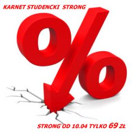 Studencki STRONG 69zł